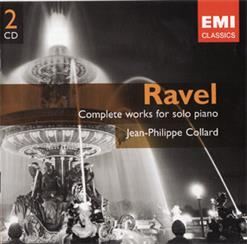 Maurice Ravel - Complete Works For Solo Piano. CD2